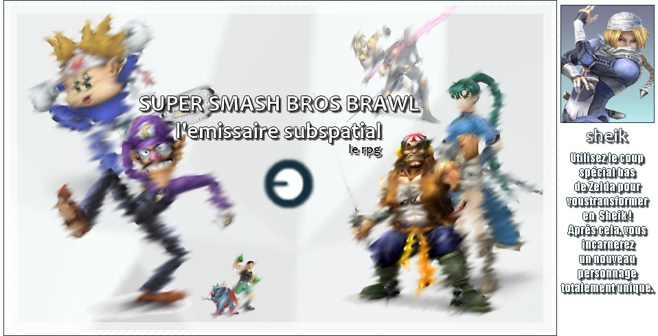 Super smash bros brawl : l'emissaire subspatial