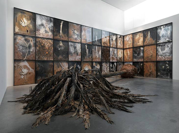 installation de kiefer,art-maniac le blog de bmc, http://art-maniac.over-blog.com/ le peintre bmc,