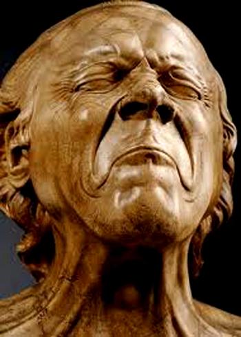 franz xaver messerschmidt et ses têtes de caractères,musée du louvre, messerschmidt,