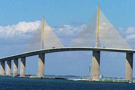 Savoir plus grands ponts du monde - Premier pont a haubans ...