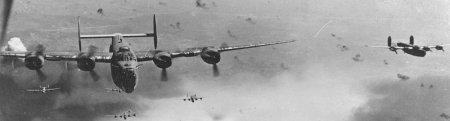 forum frontignan, Bombardement de la ville par la 15eme USAAF