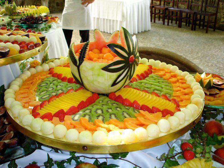 5 fruits et l gumes par jour - Decoration legumes pour buffet ...