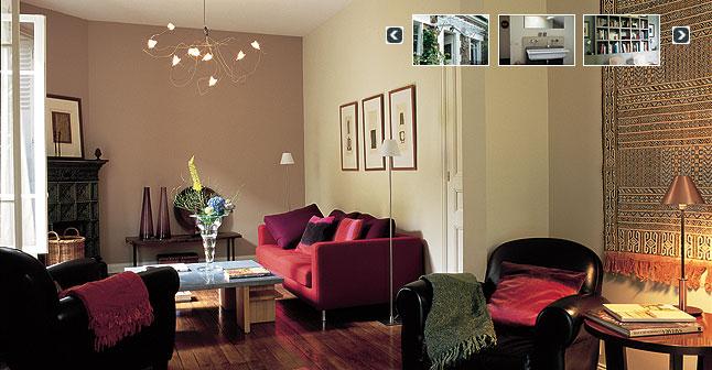 salon mur marron peindre dans un marron clair comme glac lger pour - Salon Mur Marron