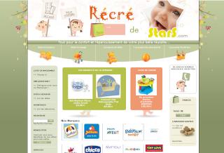 Site e-commerce de puériculture