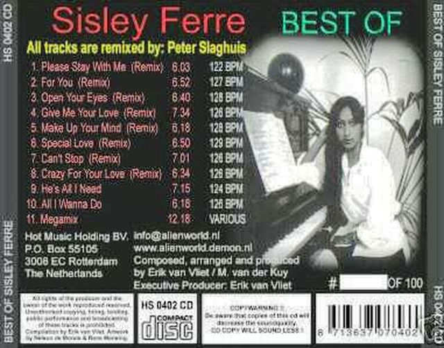 Best Of Sisley Ferre Vol 01