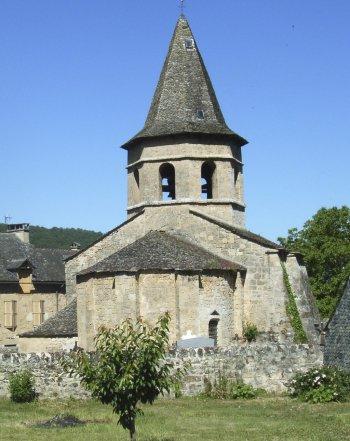 Eglise romane de Salles la Source