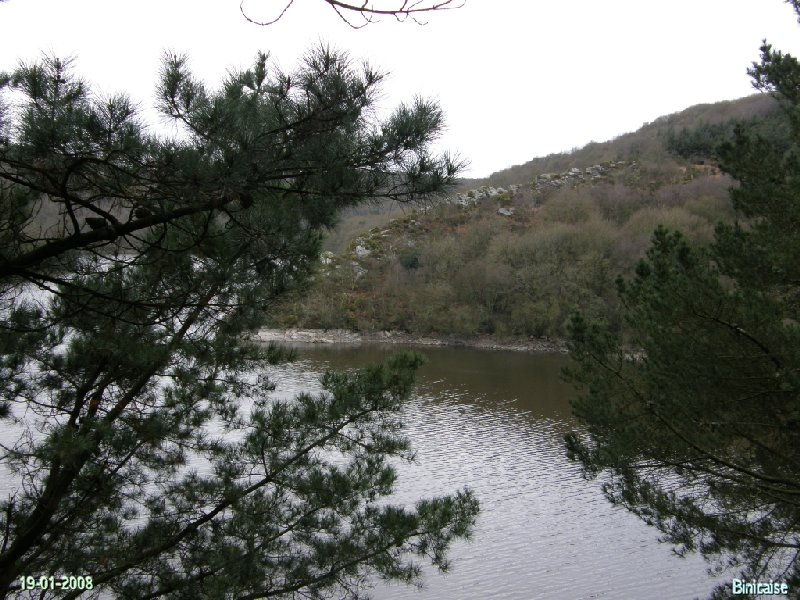Lac de guerledan, L'hiver 2/2. dans Bretagne p1193014