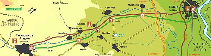 Via verde del tarazonica for Oficina renfe pamplona
