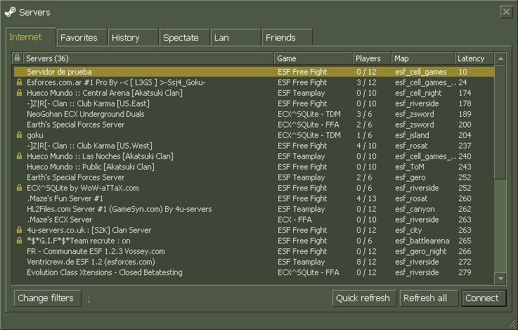 Как сделать сервер в кс 1.6 виден в интернете 648