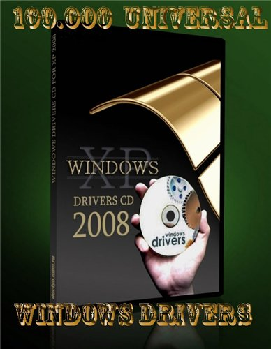 100 000 Universal Windows Drivers 09 2008 (DVD) preview 0