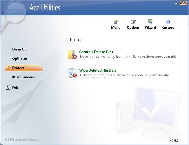 ���� : ������ ACE Utilities 5.1 �� ������� ������ ������ ������