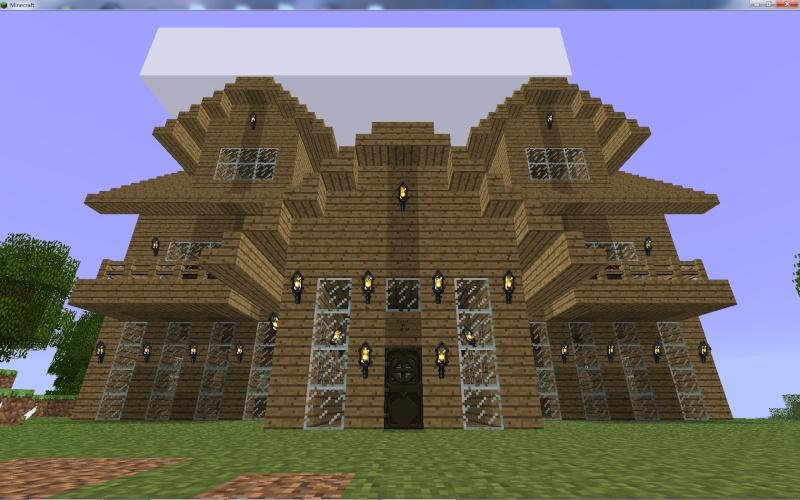 Vos maisons - Comment faire une tres belle maison minecraft ...