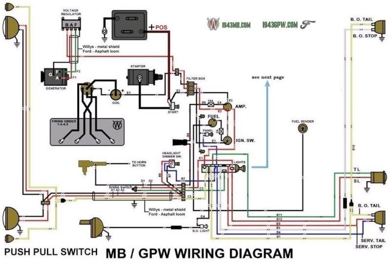 Mb Gpw on Shovelhead Starter Relay Wiring