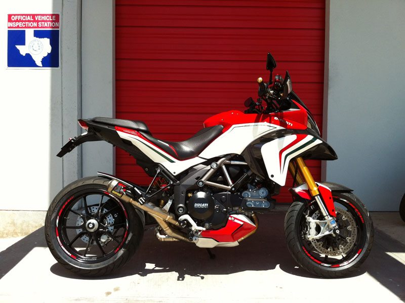 Ducati Hypermotard Touring Kit