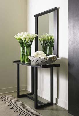 Un appartement architecturer d corer meubler page 1 for Console avec miroir pour entree