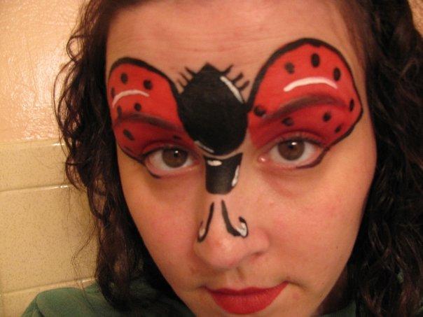inspiration til ansigtsmaling halloween