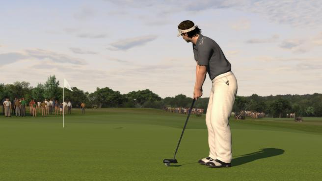 Announcement that Augusta will now feature in the new Tiger Woods 2012 game.