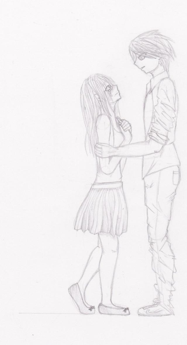 Dessins de couples - Dessin manga couple ...