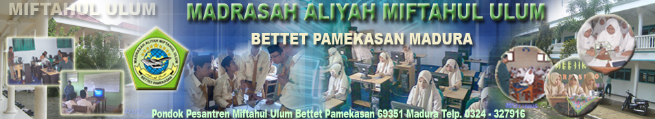 Forum Community MA. Miftahul Ulum Bettet