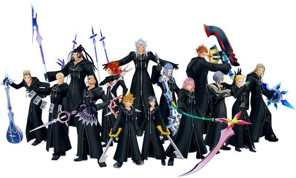 Organization XIII + Kingdom Hearts Forum.
