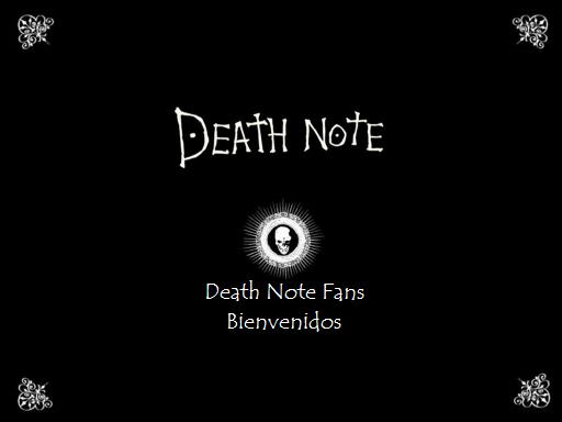 Death Note Fans Foro!