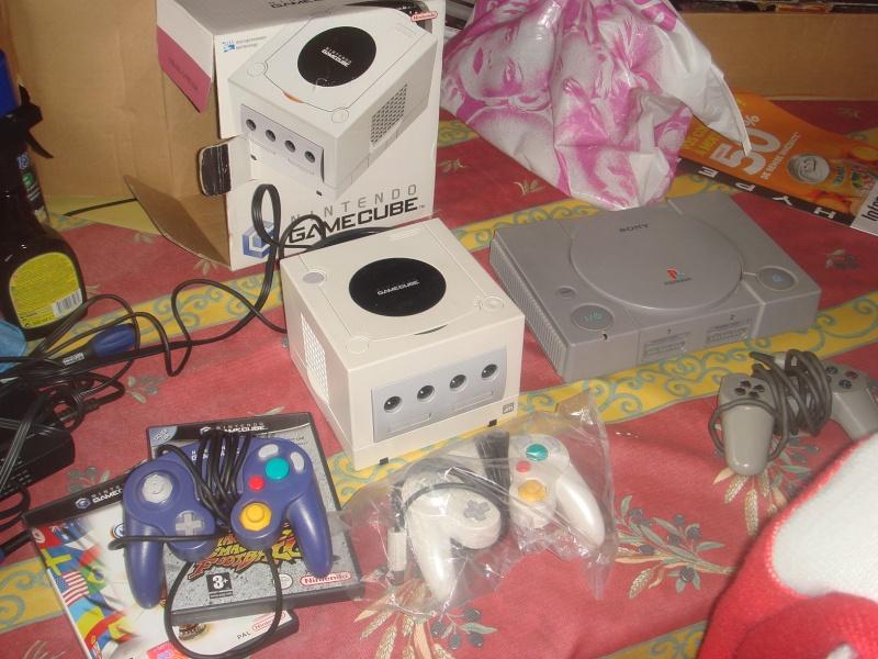Gamecube et PS1