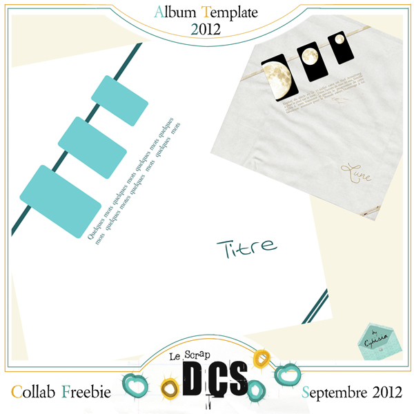 DCS et l'album template 2012