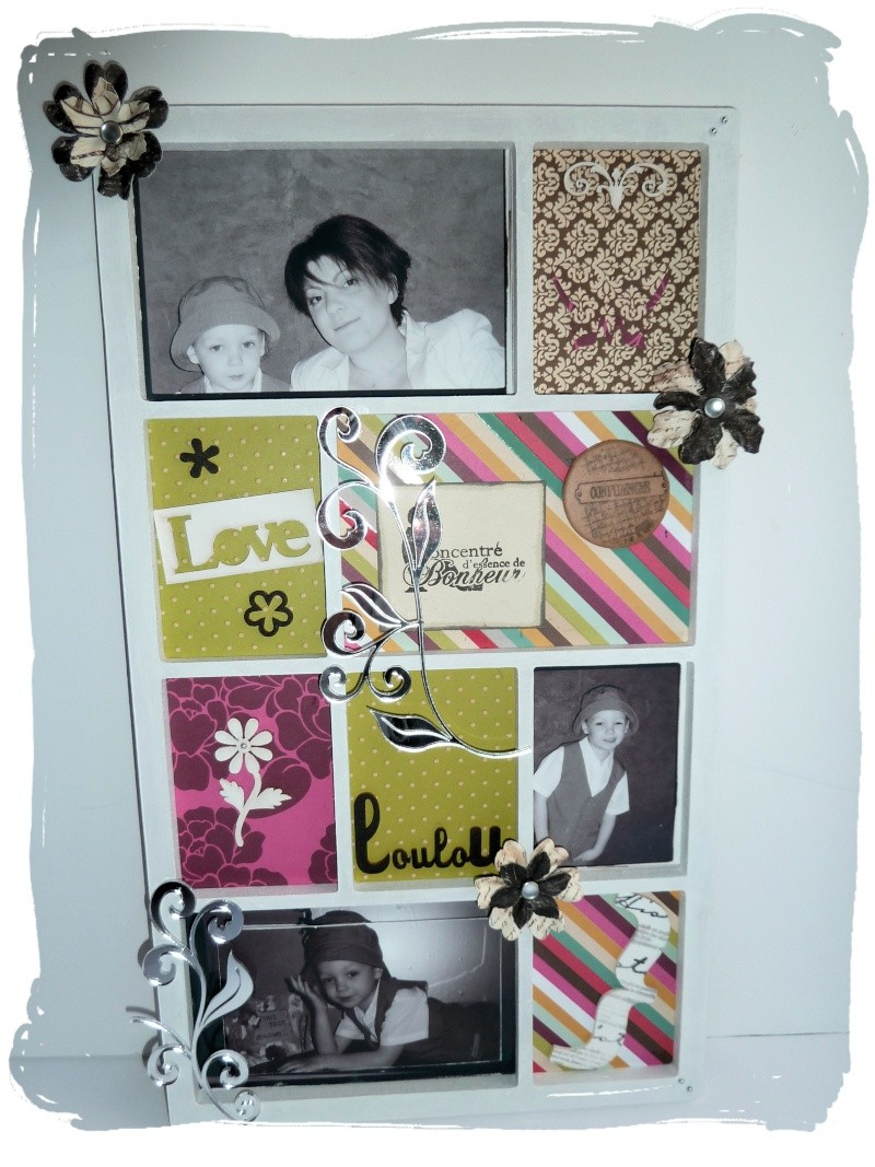 carooscrap frame photo display et cadre customis. Black Bedroom Furniture Sets. Home Design Ideas