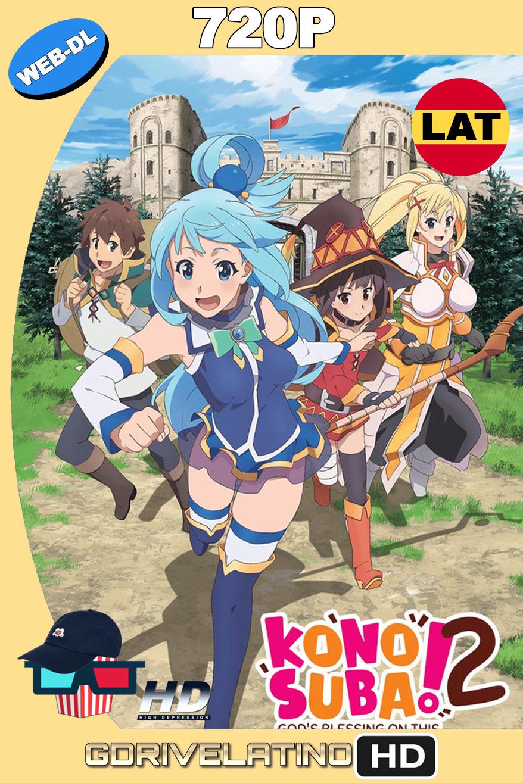 Kono Subarashii Sekai ni Shukufuku wo! 2 (2017) (11/11) WEB-DL 720p Latino MKV