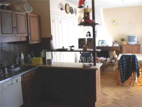 Enlever ou garder une cheminee dans une cuisine for Cuisine incorporer