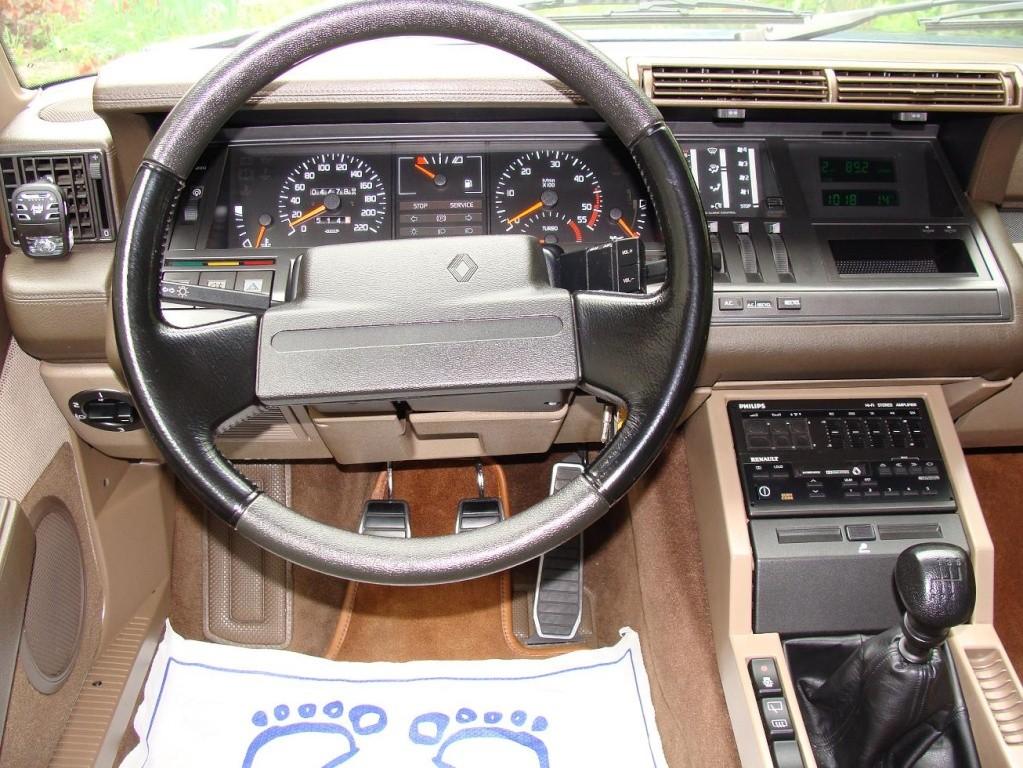 renault 25 turbo dx 1990. Black Bedroom Furniture Sets. Home Design Ideas