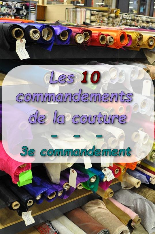 épingle pinterest présentation 3e commandement de couture
