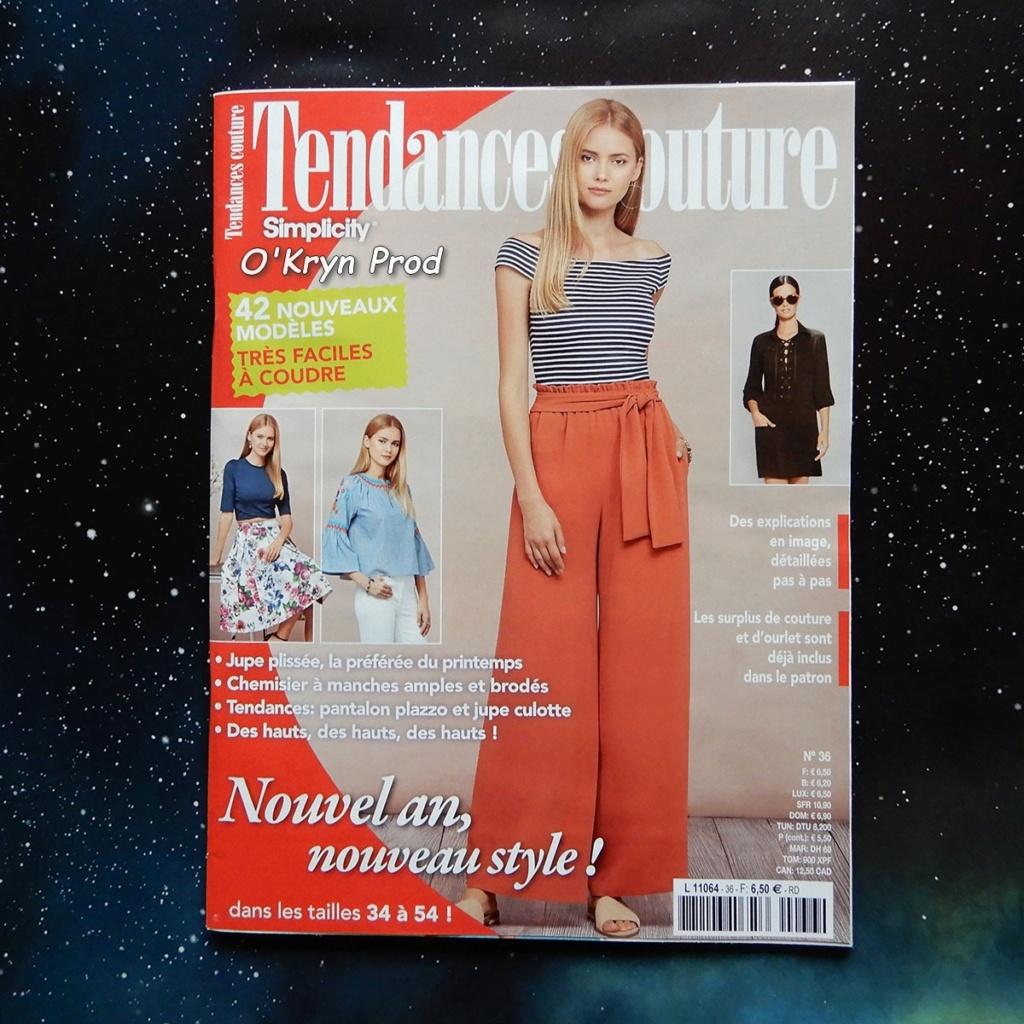magazine tendance couture - blog O'Kryn Prod - couverture